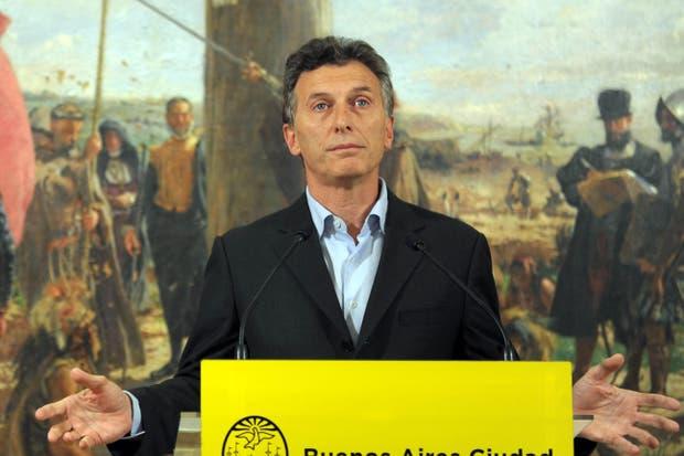 El jefe de la Ciudad, Mauricio Macri, defendió la suba en la tarifa del subte