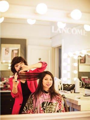 Recorrido: peluquerías indoors