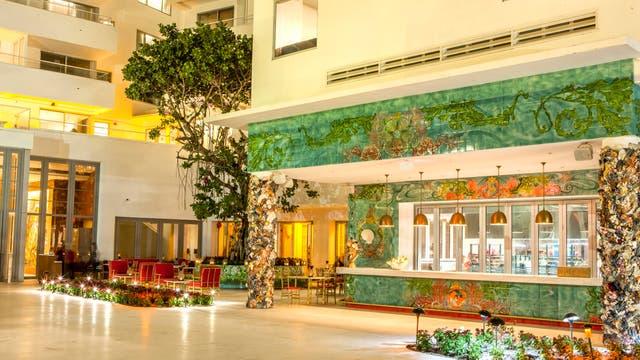 El interior del Faena Hotel Miami Beach