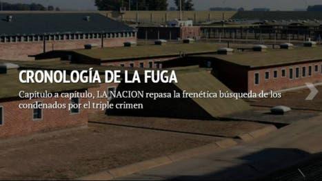 Triple crimen: cronología de la fuga que mantuvo en vilo al país