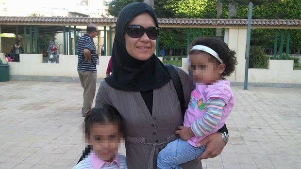 Carolina Pavón, la argentina atrapada en Egipto con sus dos hijas | Foto: Portal Radio News