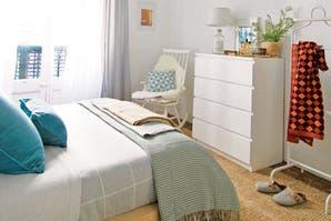 Antes y después: la transformación de un dormitorio con pequeños detalles