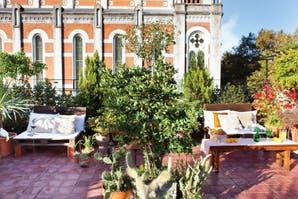 Dos estilos para una terraza urbana
