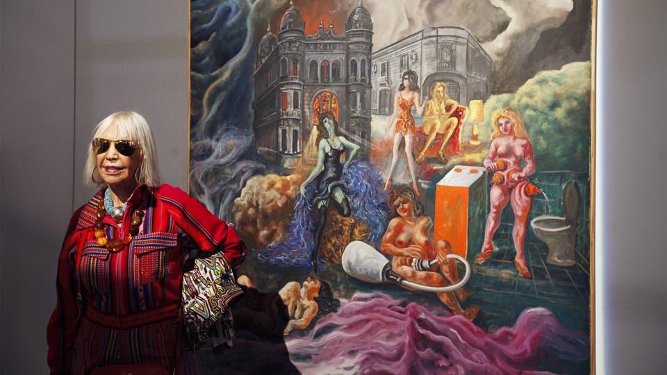 El cheque en blanco: las diez obras que compraría Marta Minujín