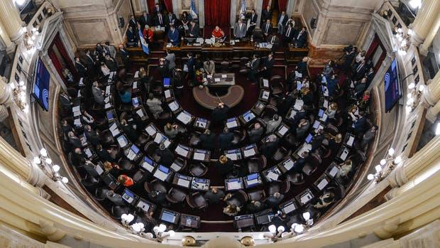 Una amenaza de bomba obligó a evacuar el Senado