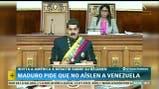 Maduro pidió que no aíslen a Venezuela