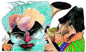 Carlos Mesa, jaqueado por el líder cocalero Evo Morales