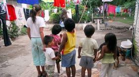 Los chicos de La Calera tienen bajo peso y talla para su edad; están en un estadío de desnutrición considerado riesgoso por los especialistas