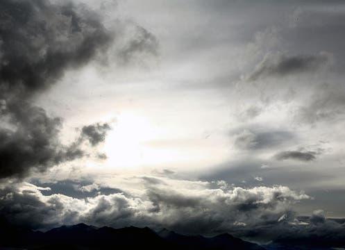 Montañas y cielo, paisaje de otoño en Bariloche. Foto: Gentileza Emily Anne Epstein