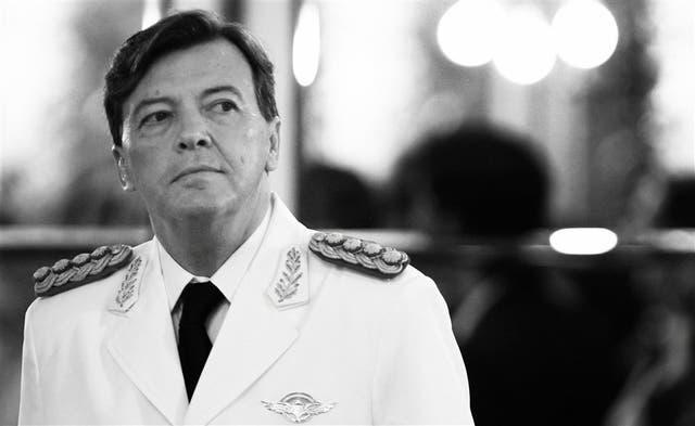 César Milani, jefe del Ejército
