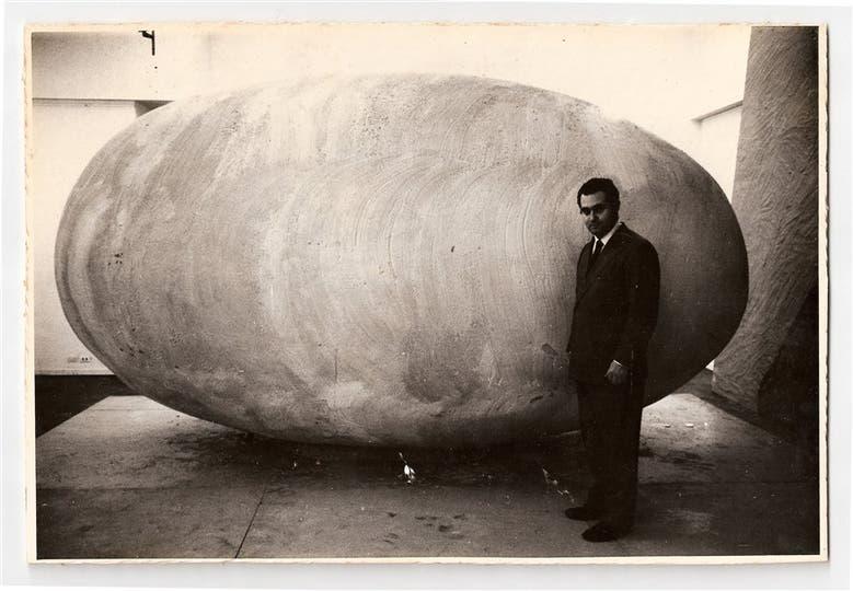 Nosotros afuera, Federico Manuel Peralta Ramos, instalación, 1965