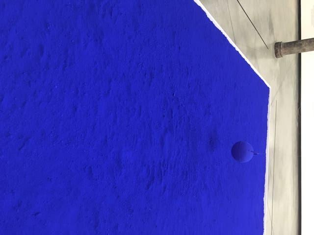 Instalación de Yves Klein en Proa