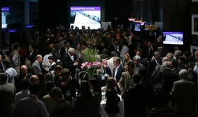 Más de 800 empresarios desbordaron los salones del Sheraton para el coloquio este año