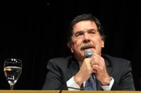 El ministro de Educación de la Nación, Alberto Sileoni, no logró llegar a un acuerdo sobre las paritarias nacionales de los docentes