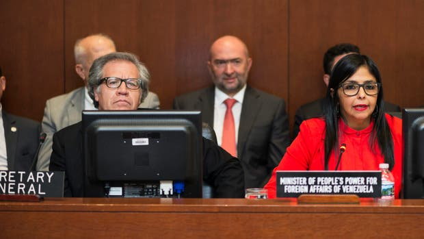 Suspenden sesión extraordinaria de la OEA