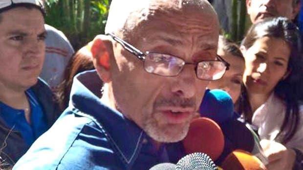 El padre del joven asesinado, en Venezuela