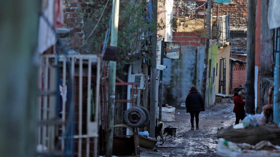 La mayoría de sus calles son de tierra; los días de lluvia son poco deseados. Foto: LA NACION / Emiliano Lasalvia