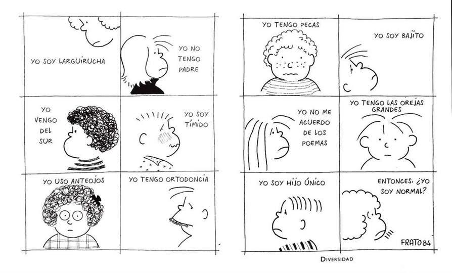 Ilustración de Frato, extraída de su libro 40 años con ojos de niño, de Editorial Losada