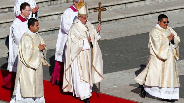 Resultado de imagen de Brochero tres cardenales Argentinos en la ceremonia
