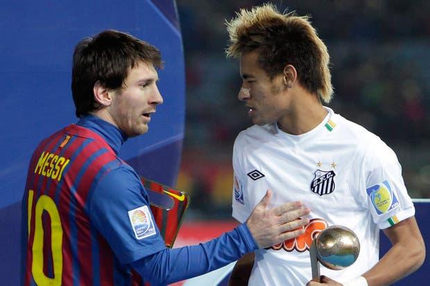 Messi y Neymar, juntos