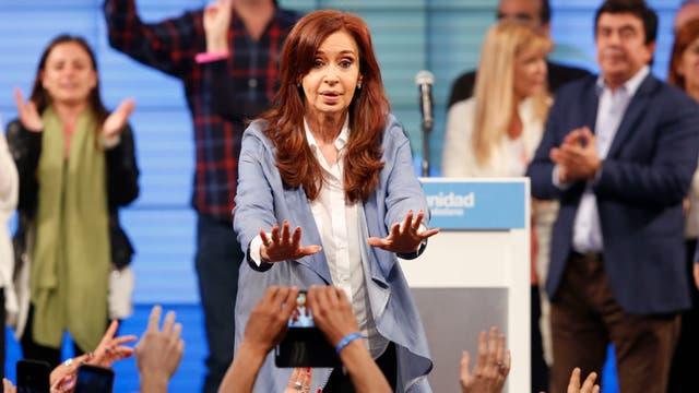 Luego de su triunfo en las PASO, Cristina Kirchner se quedó con el segundo lugar en las elecciones generales