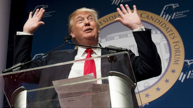 Donald Trump, precandidato republicano