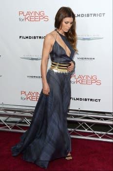 Jessica Biel fue a ver la misma película que UmaThurman ¿Qué opinan de su outfit?. Foto: AFP
