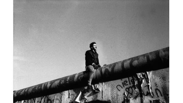 En junio de 1989, durante las protestas en Alemania del Este antes de la caída del Muro