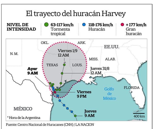 El paso de Harvey: los números del huracán más potente que golpea a EEUU en años