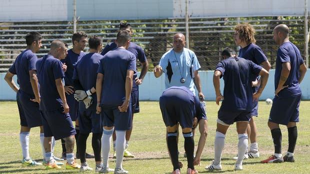 El plantel de Argentino de Quilmes