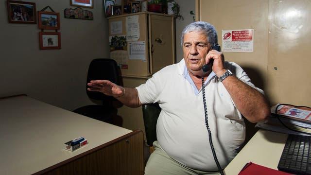 El jefe comunal, Jorge Carcabilla, una de las víctima de los delincuentes