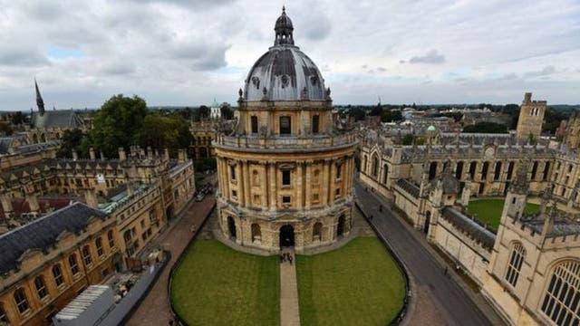 La Universidad de Oxford es la primera de la lista, según la edición 2017 del Times Higher Education (THE)