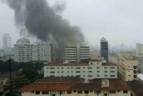 Cayó la avioneta en la que viajaba el candidato Eduardo Campos en Brasil hay varios muertos