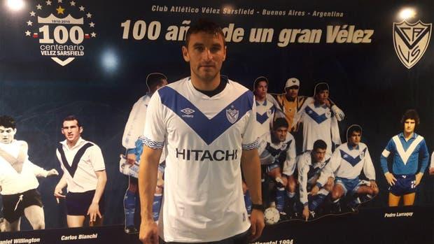 Gonzalo Bergessio se sumó a Vélez