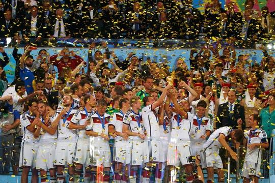 Alemania campeón. Foto: Reuters