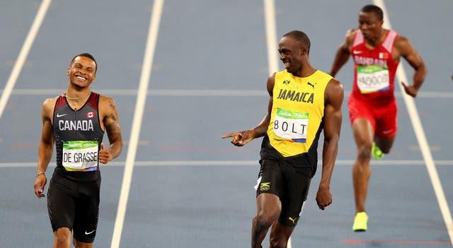 Andre de Grasse es quien posee la personalidad más extrovertida entre los aspirantes al trono de Bolt