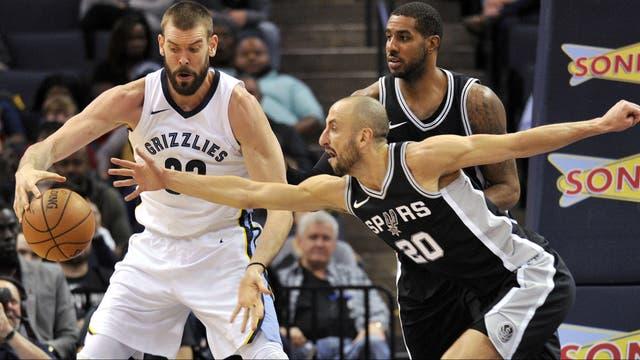 79-95. Aldrige y los Spurs vuelven a controlar a los Grizzlies