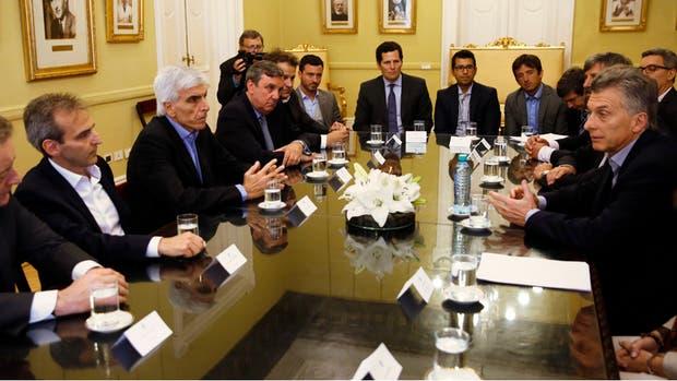 Macri, con empresarios de telecomunicaciones