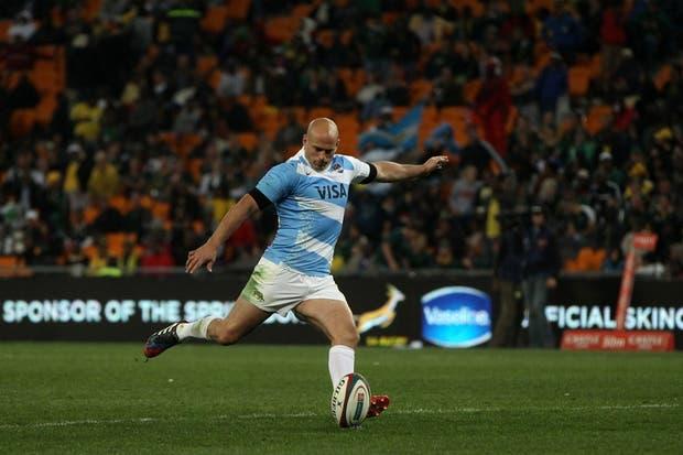 El equipo argentino cayó ante Sudáfrica en su segundo estreno en el Rugby Championship.  /Villar Press