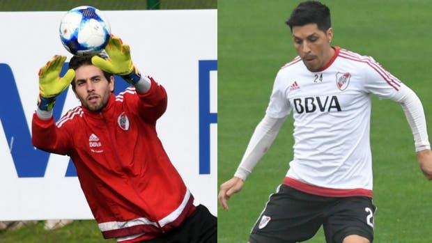 Lux y Pérez, titulares en River para jugar ante Boca