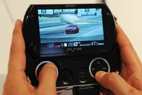 Una consola portátil de Sony