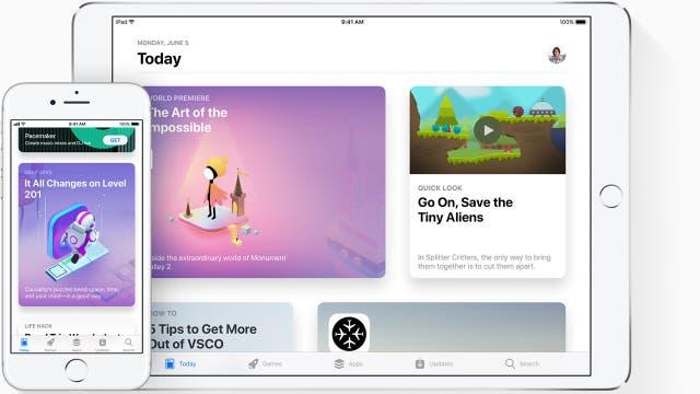 En iOS 11 la tienda de aplicaciones estrena un aspecto renovado