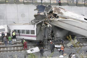 El tren Alvia cubría la ruta entre Madrid y Ferrol
