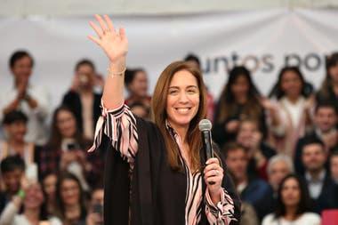 María Eugenia Vidal y su equipo apuntaron a potenciar sus chances en el distrito de La Matanza
