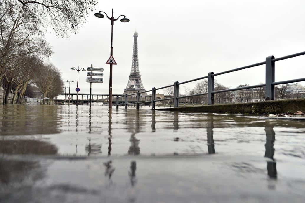 París: Francia está en alerta por la crecida del río Sena