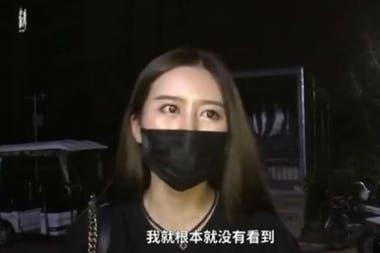 Lisa Li le dijo a la prensa que ella no vio los mensajes reiterados de la dueña del departamento