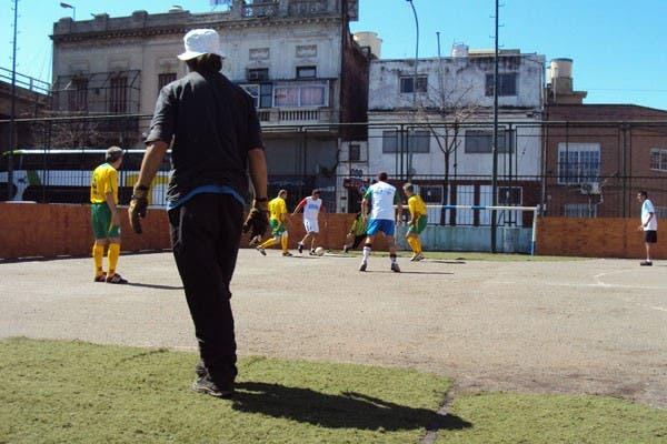 Una práctica del equipo argentino