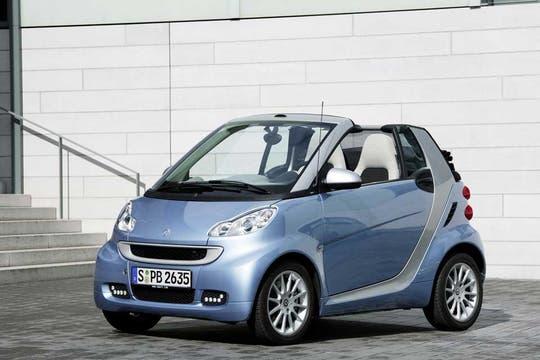 Todo el encanto del Smart, un modelo que ya se ve en las calles de la ciudad.