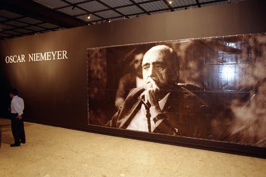 El año pasado se realizó una muestra en honor al célebre arquitecto. Foto: Archivo