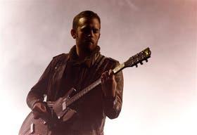 Caleb Followill, cantante y líder de la banda que comparte con sus dos hermanos y su primo